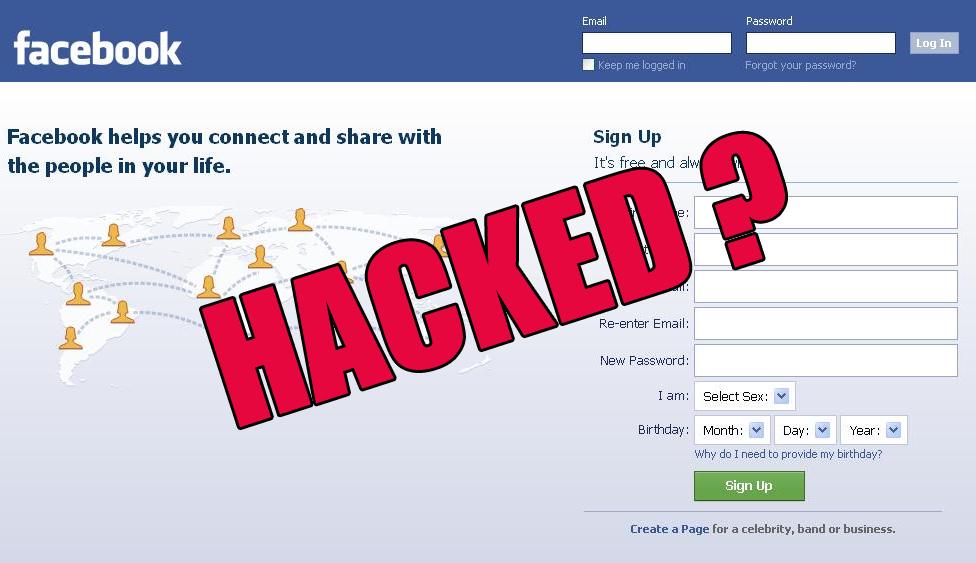 was my facebook account hacked 2018